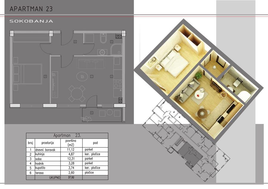 Apartman-23