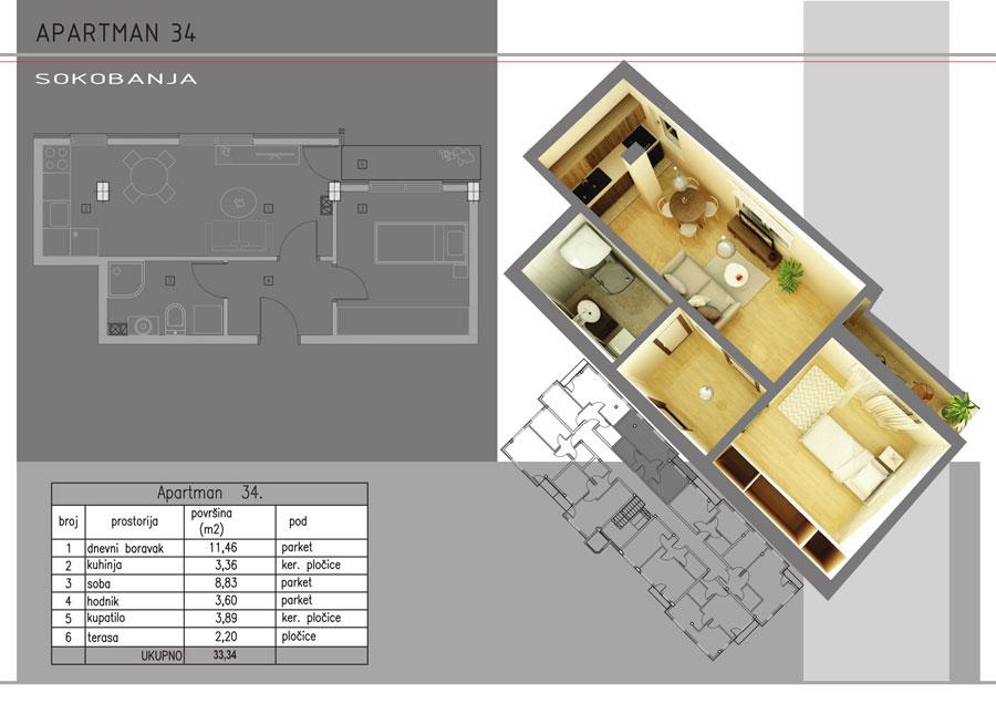 Apartman-34