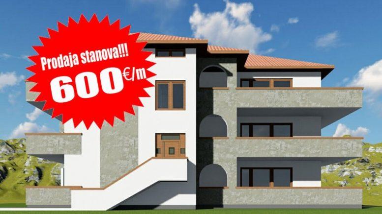 Stanovi od 600 eur po m/2 Sokobanja
