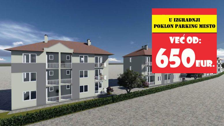 prodaja stanova u naselju Čuka u Sokobanji