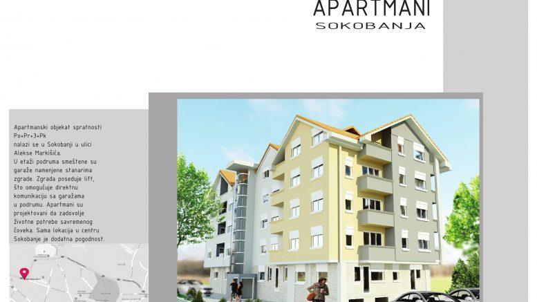 Apartmani Stanovi na prodaju Sokobanja